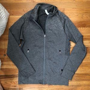 Lululemon Gray Zip up Jacket a Small